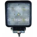 LUZ LED 15W 60° CUAD. 100 MM 12-24V STELEC1000L